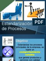 CLASE 4 Estandarización de Procesos