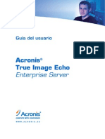 Manual Acronis True Image Enterprise