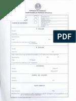 Formulario de Actualizacion de Informaciones