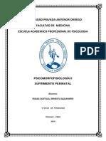 Monografia de Sufrimiento Perinatal