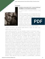 Revista Observaciones Filosóficas - Literatura y Deconstrucción_ Lectura de Enrique Vila-Matas. Los Escombros de La Teoría
