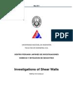 Report Shearwall