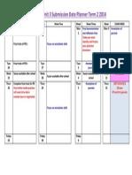 unit 3 2014 week by week term2 studio art sat date planner