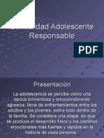 Sexualidad Adolescente Responsable Clase 3