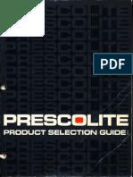 Prescolite Product Selection Guide 28SC 1980