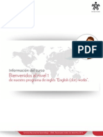 Info Curso Level 1 English Dot Works LEVEL 1