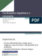 Cardiopatía Isquémica o Coronaria