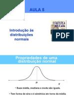 Inf103 Introducao Distribuicoes Normais 2012-1 (1)