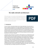 White Paper on 5G Radio Network Architecture