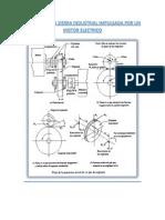Diseño de Una Sierra Industrial Impulsada Por Un Motor Electrico