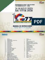 Manual Operativo Cumbre G77 Bolivia