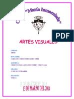 Artes Visuales - Marzo 2