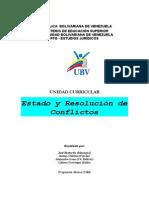 Programa de Estado y Resolucion de Conflictos