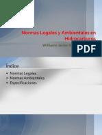 Normas Legales y Ambientales en Hidrocarburos