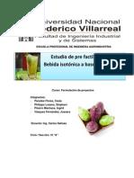 Proyecto Bebida Tuna