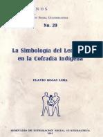 Rojas Lima - La Simbologia Del Lenguaje Indigena en La Cofradia