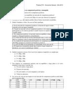 Práctica Nº 6 Micro Competencia Perfecta y Monopolio
