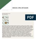 Civilización. Una Historia Crítica Del Mundo Occidental