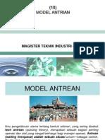 10 Model Antrian