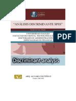 Análisis Discriminante SPSS