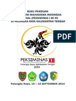 Buku Panduan Peksiminas XII Rev.12 April