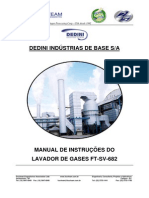 Manual Lavador de Gases SD-225