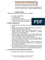 Recomendaciones Tdh Para Profes 2014