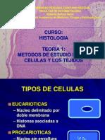 A - 1 2010 - Metodos de Estudio de Celulas y Tejidos