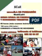"""curso oficial en """"Primeros Auxilios y Socorrismo Terrestre"""""""
