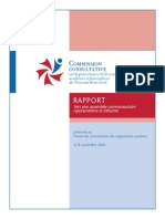 Commission Consultative Assemblée Délibérante