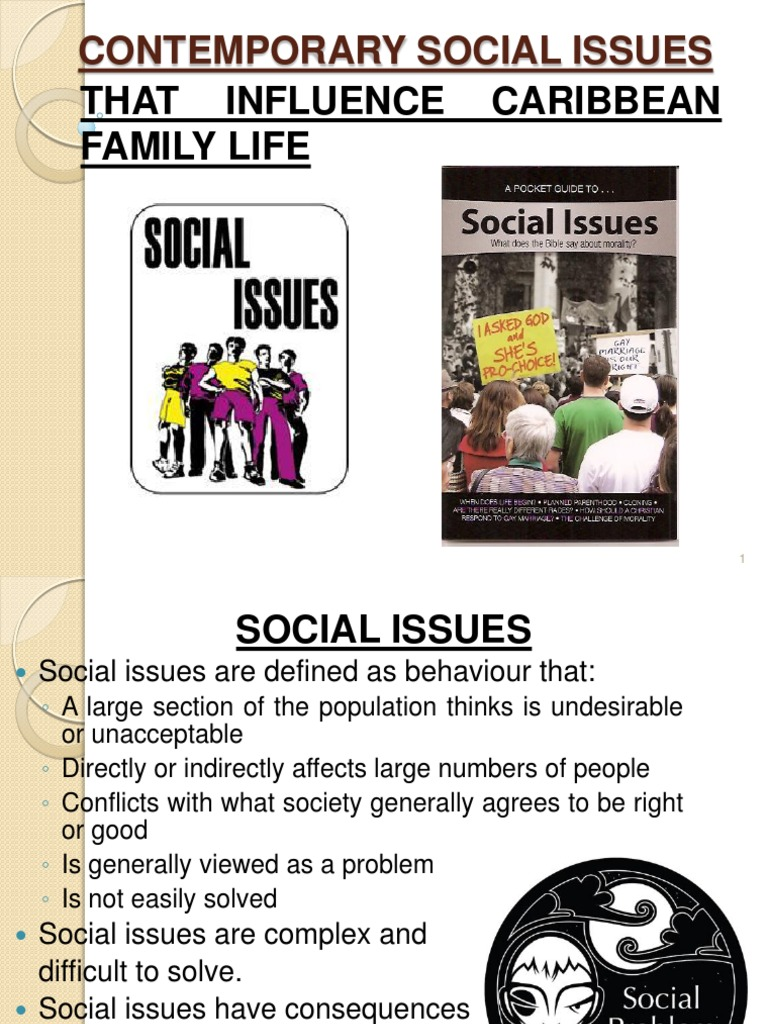 social issues affecting family | Sexually Transmitted