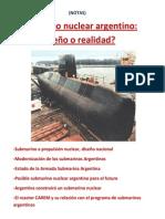 Submarino nuclear argentino