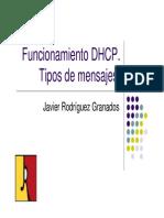DHCP MENSAJES