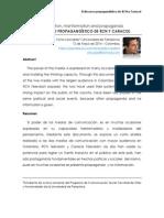 El Discurso Propagandístico de Rcn y Caracol - Victor Leonardo Cordero