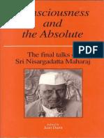 Sri Nisargadatta Maharaj - Consciousness and the Absolute