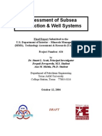 Assesment of Subsea Production and Well Systems