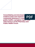 Community Pharmacy Contribution to Public Health