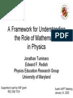 A Framework for Understanding