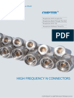 High Frequency N Connector