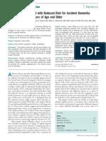 PT Alzheimer's Disease-Exercises AD11