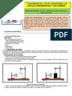 Guía de Indagacion Escalas Termométricas