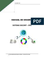 Manual de Usuario Siscont Epg