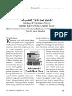 "Perspektif ""Link and Match"" Lembaga Pendidikan Tinggi Tenaga Kependidikan Agama Islam (Rekonstruksi atas Tinjauan Metodologi Pembudayaan Nilai-nilai Keagamaan)"