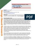 Petrosino DBR EDC387R Syllabus