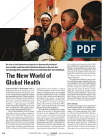 Global Health Lecture 1-Global Health Partnerships and Programs