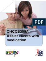 CHCCS305A Assist Clients With Medication Wbk