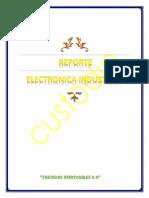 Reporte de Elctronica - Compuertas Logicas