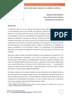 Alejandro Quiñonez. Las Puebladas de La Década de 1990 en Argentina.