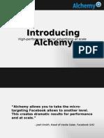 Introducing Alchemy