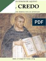 Santo Tomas de Aquino El Credo